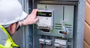 услуги электрика по замене электросчетчика