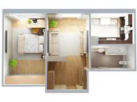 электрика в двухкомнатной квартире