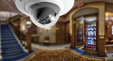 Видеонаблюдение в гостинице, хостеле