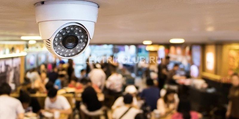видеокамера для ресторана