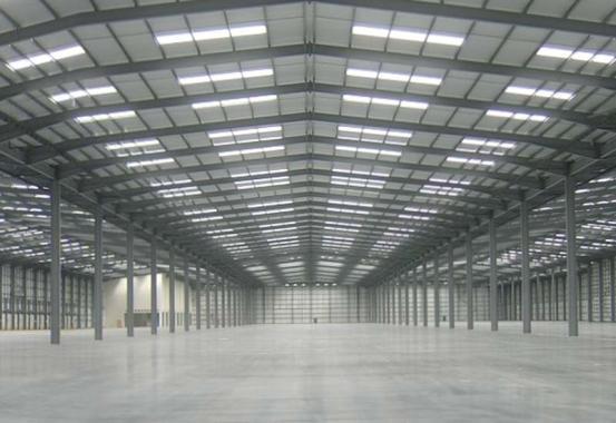 монтаж освещения на складе